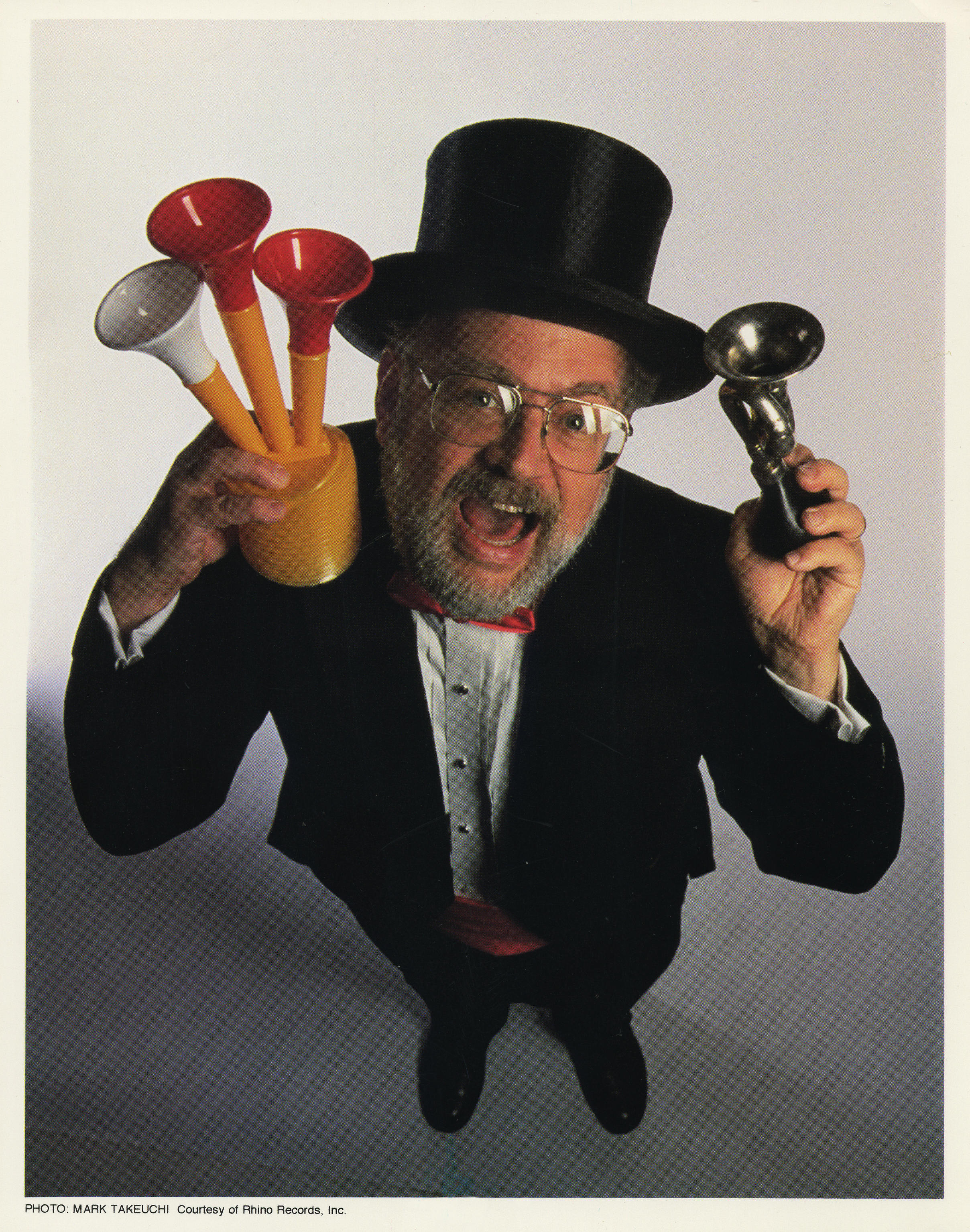 dr demento holding horns