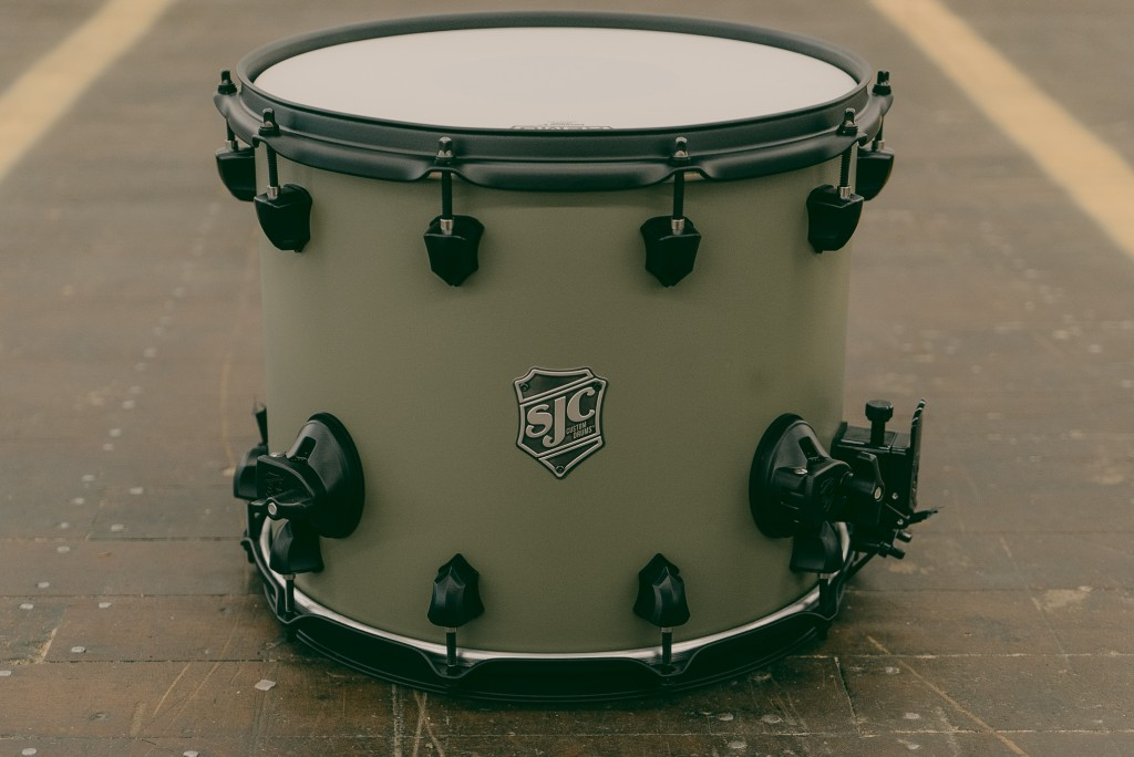 SJC Ballad Snare for Bandito Tour Coutesy of SJC Drums